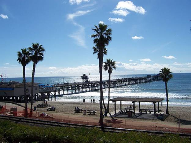 San Clemente California - Pier Day